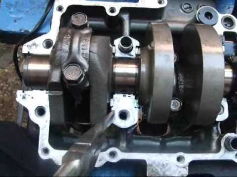 suzuki gsx r transmission install crankcase assembly youtube rh youtube com 2007 gsxr 750 motor diagram