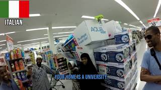 Black American Scares The Daylight out of Africans In Grocery Isle ((IN RETROSPECT))