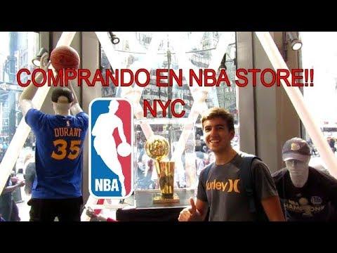 COMPRANDO EN LA NBA STORE DE NUEVA YORK!!