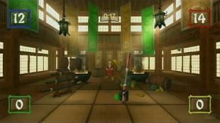Ninja Reflex Nintendo Wii Gameplay - Nunchaku