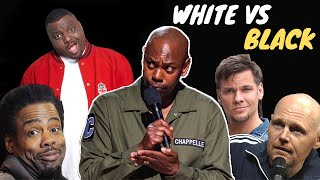 Comedians on White vs Black People (Part-1)