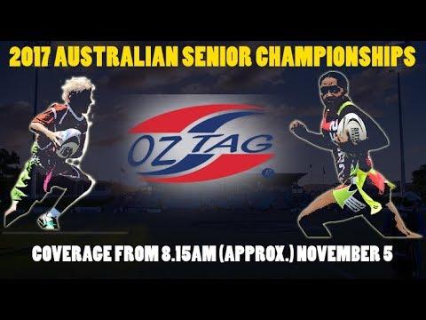 GAME 1 - 2017 AUSTRALIAN SENIOR OZTAG CHAMPIONSHIPS