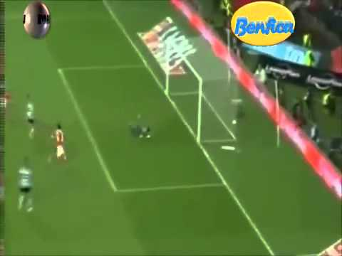Benfica Sporting golo Lima