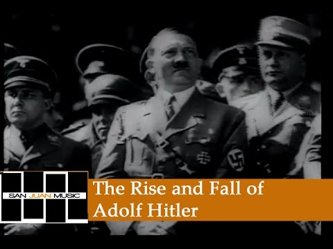 an introduction to the rise and fall of adolf hitler This book chronicles the nazi's rise to power detailed and well-documented account of how it was that adolf hitler the rise and fall of the third reich has.