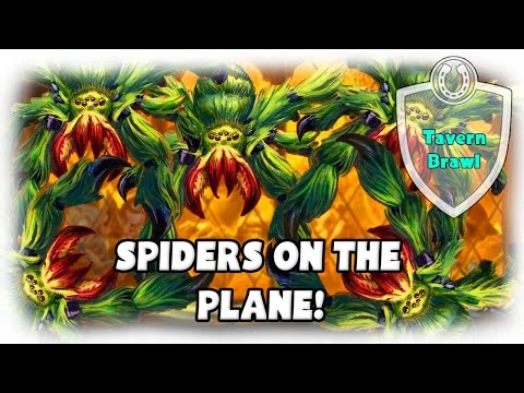 [Hearthstone] SPIDERS ON THE PLANE - Tavern Brawl [Highlight]