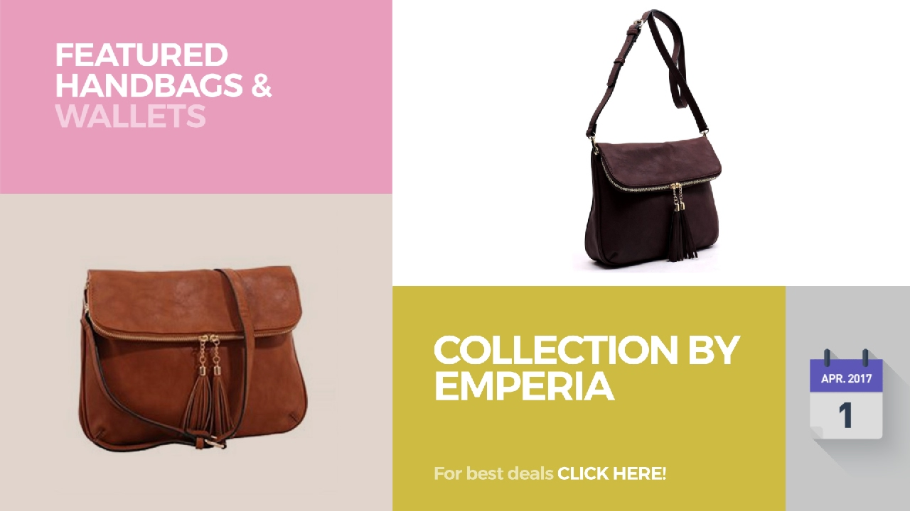 Collection By Emperia Featured Handbags   Wallets - YouTube 789df62a9ad17