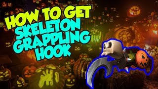 [EVENT] How To Get the Skeleton Grappling Hook - Roblox Halloween 2018