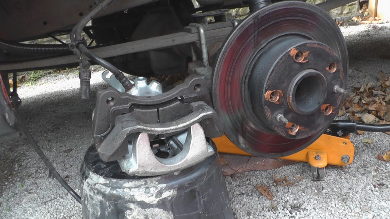 Replacing Brake Caliper to Iveco Daily Campervan  YouTube