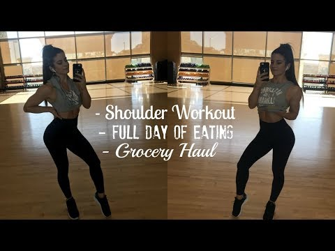 FDOE | Grocery Haul | Shoulder Workout