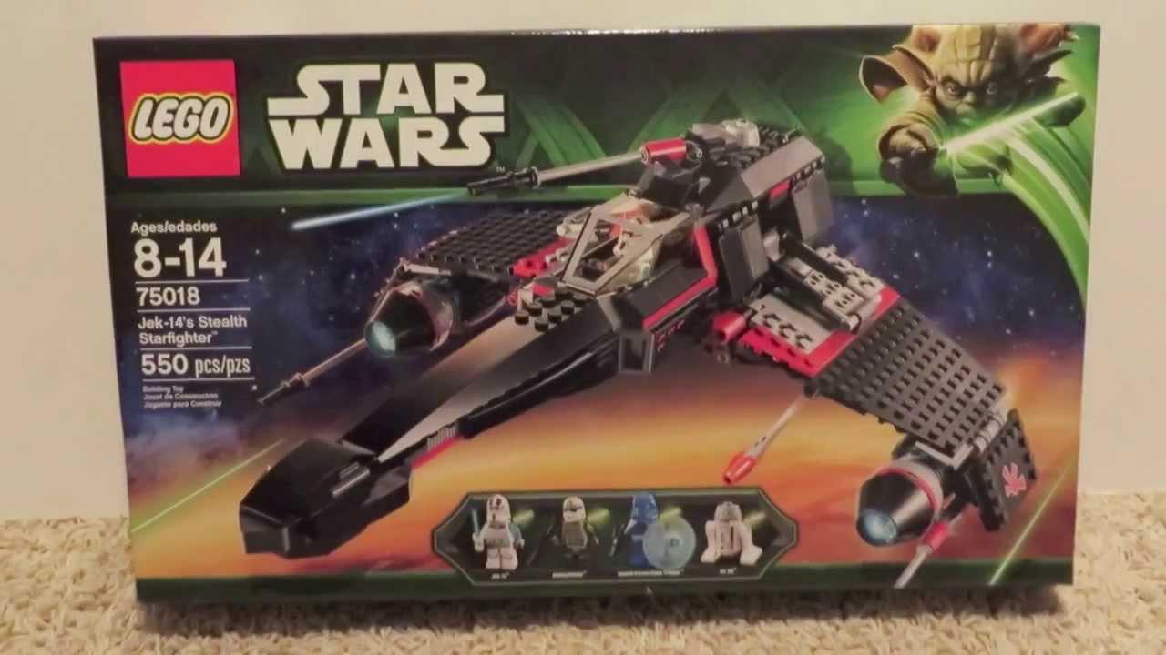LEGO 75018 JEK-14 STEALTH STARFIGHTER   Buy Toys, Hobbies & Crafts ...