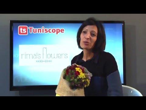 Interview de Rim Saidi, créatrice de bouquets