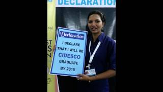 Declaration to be CIDESCO GRADUATE Thumbnail
