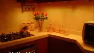 نورپردازی رنگی زیر کابینتی_دکوراسیون آشپزخانه