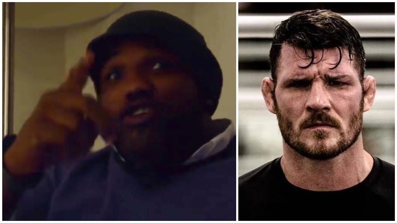 When Yoel Romero appeared to remind Michael Bisping he is always following and will see him soon