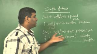 Spoken English - Tenses - Simple Future Tense