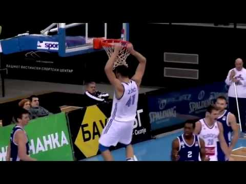 Ante Zizic FULL Highlights vs MZT Skopje (37 pts, 20 reb, 3 blk)