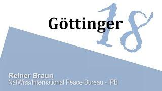 Reiner Braun: Die deutsche Atombombe - Gefahr oder Fiktion?