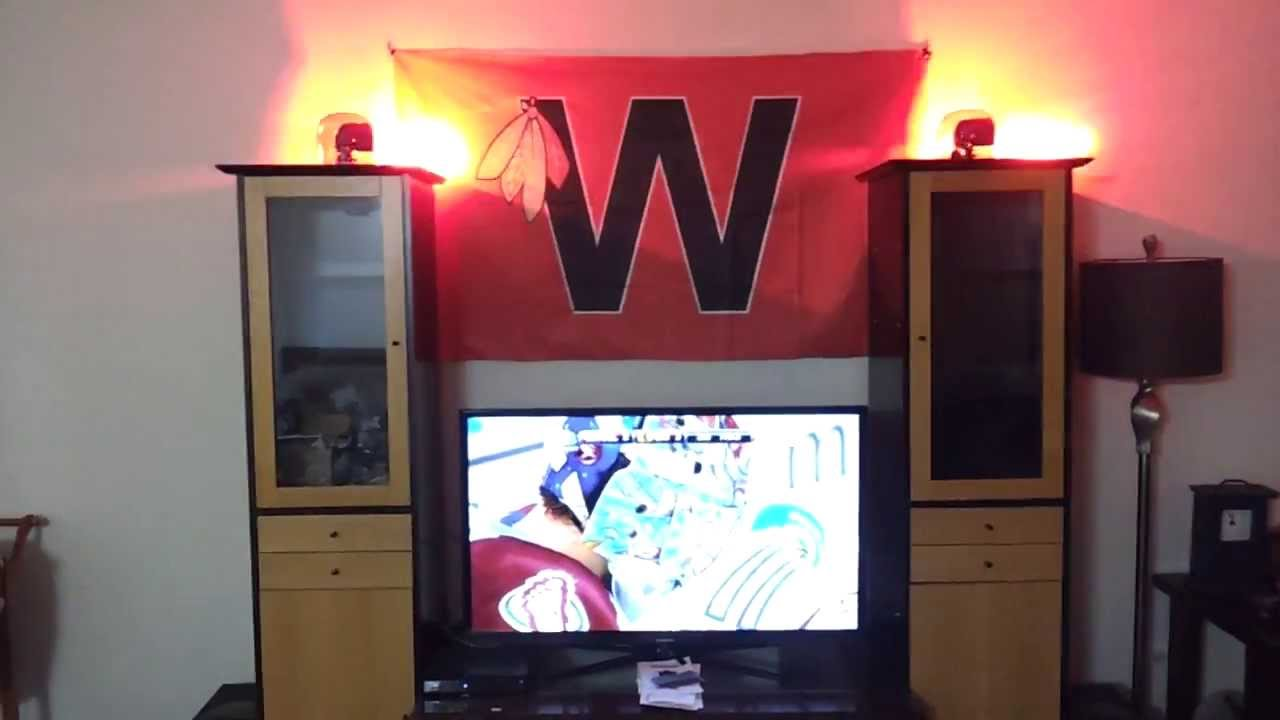 homemade hockey goal light youtube
