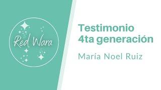 Testimonio 4ta generación - María Noel Ruiz desde Pipa, Brasil