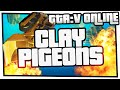 GTA 5 Online Minigames - Clay Pigeons