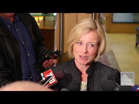 Notley says she's encouraged by polls but not banking on them