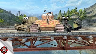 World of Tanks - Tanks you CAN'T play any more! (Waffenträger auf E100, T18, Awful Panther gameplay)