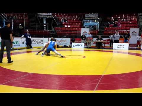 2016 Canadian Junior Championships: 74 kg Chance Mutuku vs. Jesse Whalen