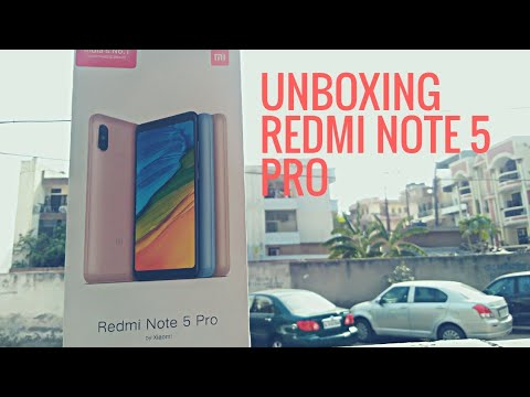 unboxing-redmi-note-5-pro-|in-hindi