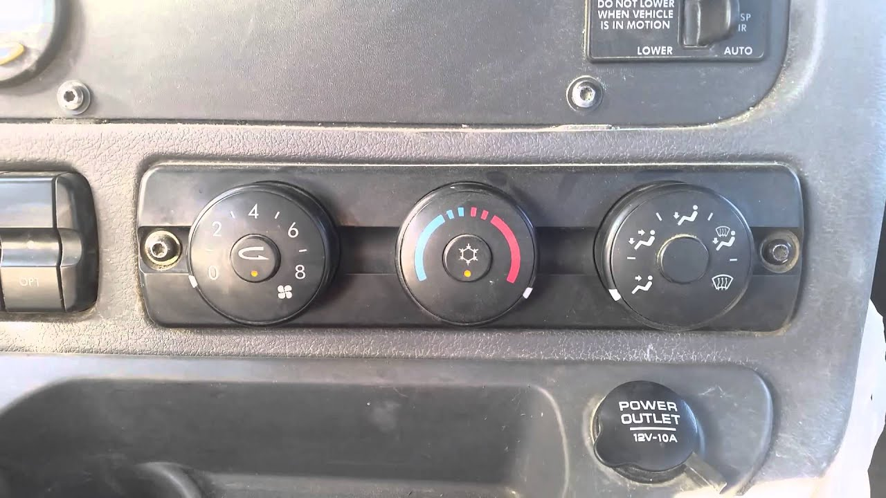 medium resolution of 2013 freightliner cascadia a c hvac system reset