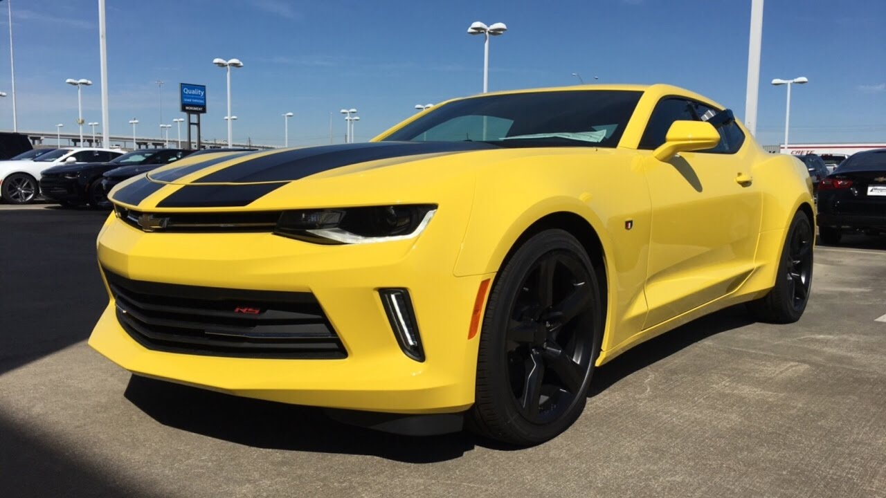 Camaro Vs Mustang >> 2017 Chevrolet Camaro 2LT w/ Dual Mode Exhaust- Review - YouTube