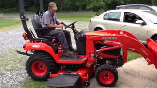 Kubota BX-2370 4X4 Diesel Tractor Quick Start Instructions by York Tractor