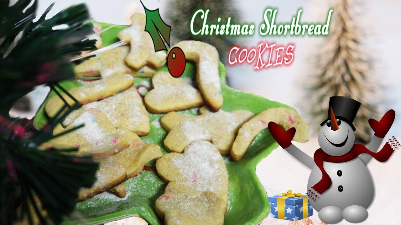 Christmas Shortbread Cookies Quick Easy Recipe