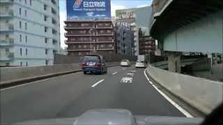 ジムニーJA22 首都高 新井宿~C1~11号~9号~江北JCT