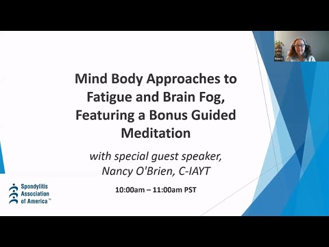 Mind Body Approaches to Fatigue and Brain Fog