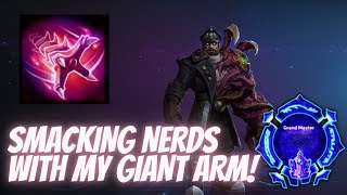 Stukov Shove - SMAĊKING SOME NERDS WITH GIANT ARM! - Grandmaster Storm League