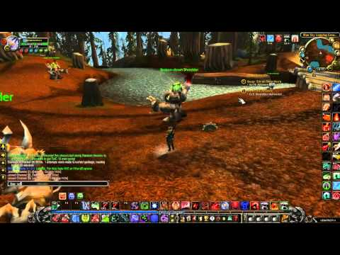 WoW (World of Warcraft) - Shred the Aliance quest