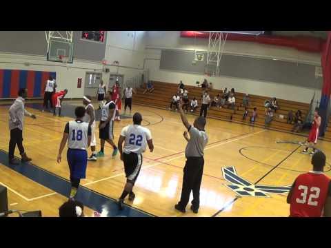 Ft. Gordon vs Eglin basketball away 2015 Part 1