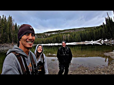 FISHING FOR TROUT In Mountain Lakes! (SURPRISE CATCHES)