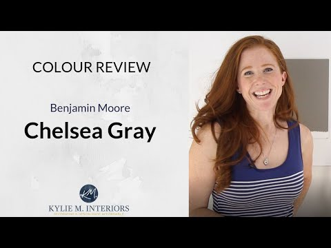 Paint Colour Review - Benjamin Moore Chelsea Gray