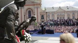 President Trump Speaks to the People of Poland