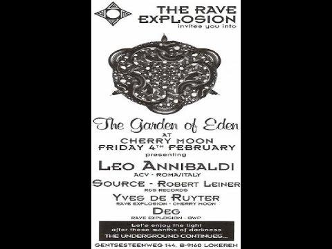 ROBERT LEINER & LEO ANIBALDI @ The Rave Explosion @ Cherry Moon (Lokeren):04-02-1994