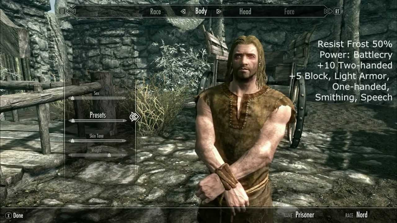 The Elder Scrolls V Skyrim - Races