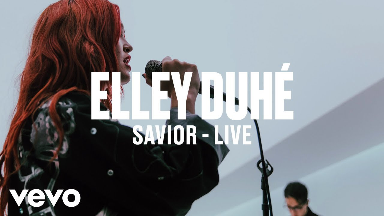 Elley Duhé — SAVIOR (Live)   Vevo DSCVR ARTISTS TO WATCH 2019