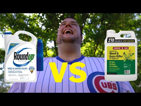 Glyphosate vs Round up | The ULTIMATE LAWN AND WEED KILLER