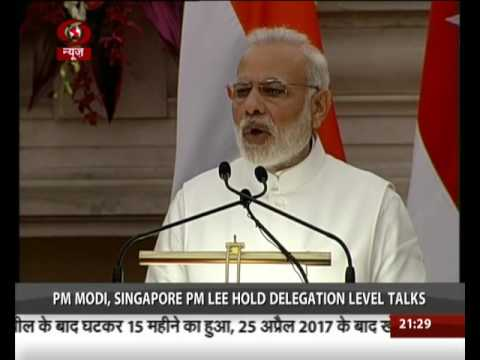 India, Singapore sign three key agreements
