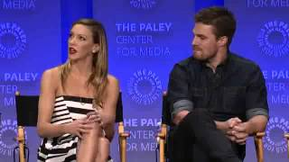 Arrow at PaleyFest 2015   Katie Cassidy on crying a lot and Laurel's journey