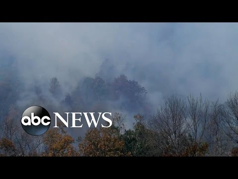 Southern Wildfires Spread Across 7 States
