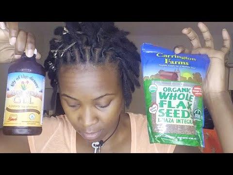Instant Locs   Aloe Vera vs Flaxseed Gel Retwist Reaction