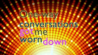 Can't Live Without | Official Lyrics | Hollyn | One-Way Conversations