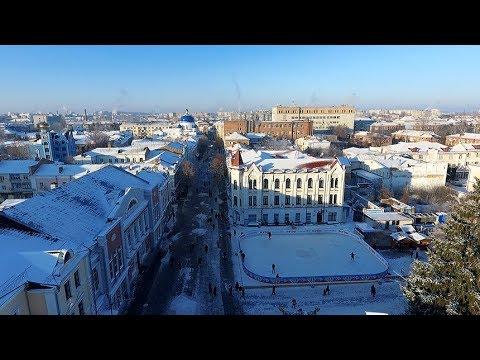 Житомир.info | Новости Житомира: Як виглядає засніжений та вкритий інеєм Житомир із висоти пташиного польоту